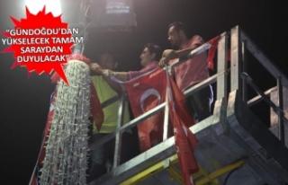 CHP adayı Kılıç, vatandaşları İnce mitingine...