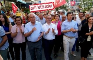 CHP İl Başkanı Deniz Yücel: Karabağlar çoktan...