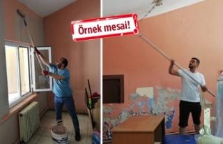CHP İzmir'in gençleri, köy okulları için...