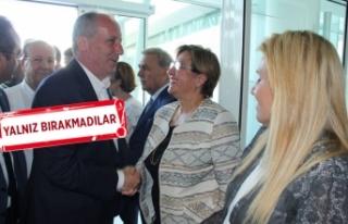 CHP İzmir Örgütü'nden 'İnce' karşılama!