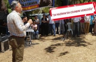 CHP'li Bayır: Bizler çocuklarımızın geleceğini...