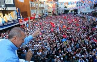 Cumhurbaşkanı Erdoğan'dan İstanbullulara...