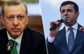 Demirtaş'tan Erdoğan'a çok sert yanıt