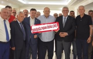 Dervişoğlu: İzmir İYİ Parti'nin maddi ve...