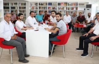 Diyarbakır'da 'Millet Kıraathanesi'...