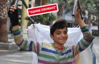 Dünya çocuk işçiliğiyle mücadele gününde,...
