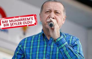 Erdoğan: Bugün size çok farklı bir proje ile geldim