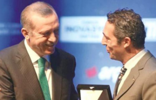 Erdoğan'dan Ali Koç'a tebrik telgrafı