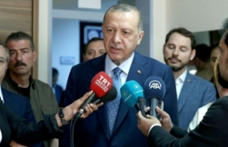 Erdoğan'dan katılıma övgü
