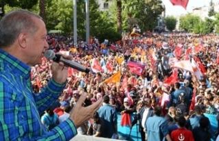 Erdoğan: Milletvekillerine sesleniyorum, İnce'ye...