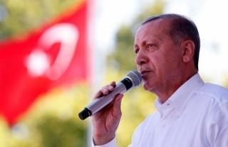 Erdoğan: Türkiye'yi daha da büyüteceğiz