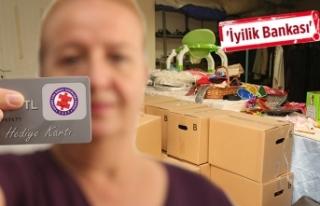 Gıda Bankası'ndan, ihtiyaç sahiplerine yardım...