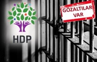 HDP'nin İzmir'deki seçim kutlamasına...