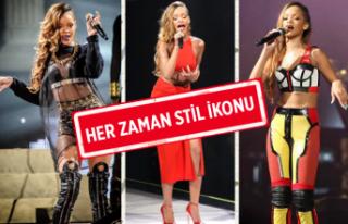 Her zaman nefes kesen Rihanna'nın stil evrimi