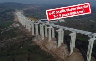 İstanbul-İzmir Otoyolu'nda sona doğru!