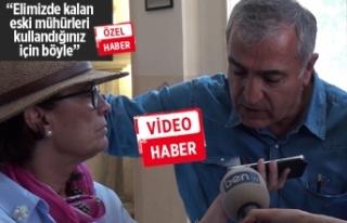 İzmir Atatürk Lisesi'nde, 'mühür'...