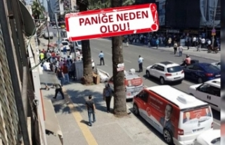 İzmir'de bomba paniği!