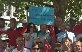 İzmir'de emekli polislerden 'ek gösterge'...