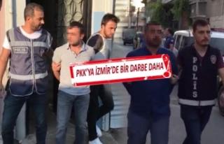 İzmir'de PKK'ya operasyon! Çok sayıda...