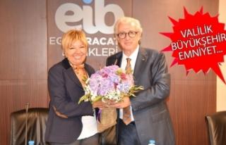 İzmir Ticaret Borsası'ndan ortak akıl ziyaretleri