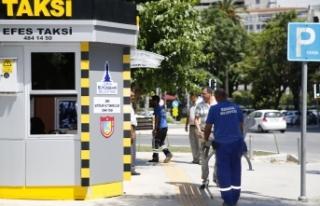 İzmirli taksicilere bayram hediyesi