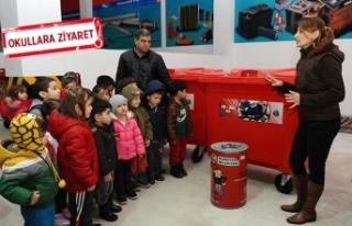Karşıyaka'dan, 3 bin öğrenciye çevre eğitimi