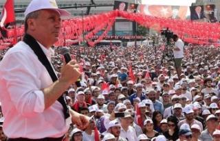 Muharrem İnce'den Erdoğan'a: Beyaz Türk