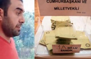 Paris'te AK Parti mühürlü oy pusulası skandalı!