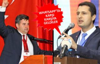 Yücel ve Oran Whatsapp'ta karşı karşıya...