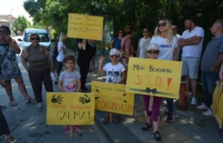 Ağva'da çocuk istismarı ve cinayetlerini protesto...