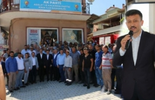 AK Partili Hamza Dağ'dan Kınık'a sandık...