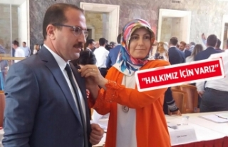 AK Partili Kırkpınar, TBMM'ye kaydını yaptırdı
