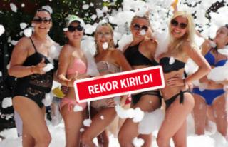 Antalya turizminde haziran rekoru