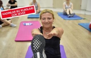 Bornova'da 'pilates' zamanı!