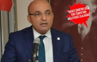 CHP'li Polat kaydını yaptırdı, ilk mesajı...