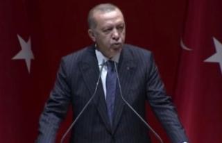 Cumhurbaşkanı Erdoğan konuşma yapıyor: Cumhur...