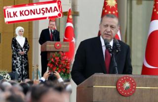 Erdoğan'dan yeni sisteme geçiş sonrası ilk...