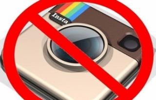 Instagram yasaklandı!