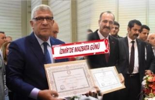 İYİ Parti ve MHP'liler mazbatalarını aldı