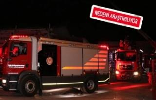 İzban hattında yangın alarmı
