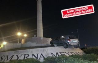 İzmir'de akıl almaz kaza!