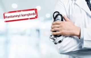 İzmir'de, doktor önlüğü giyip hastaları...