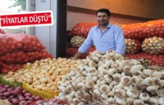 İzmir halinde etiketler, düşüşe geçti