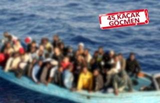 İzmir'de kaçak göçmen operasyonu!