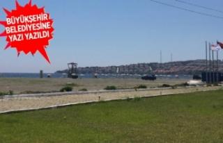 İzmir'de kurumlar arasında 'Akarca Plajı'...