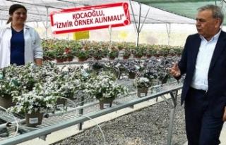 İzmir'den tarıma yenilik: Yeni bir tarım modeli...