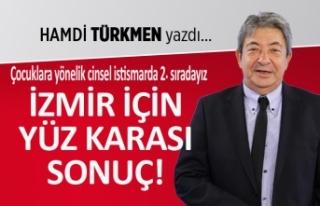 """""""İzmir için yüz karası sonuç"""""""