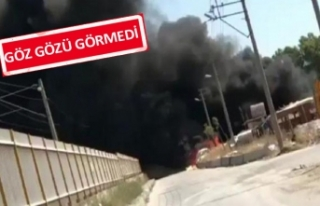İzmir'in o mahallesinden dumanlar yükseldi!