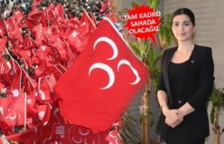 MHP izmir'de kadınlar, gelecek için ümitli