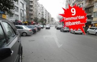 Mithatpaşa'ya yeni trafik düzenlemesi